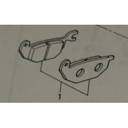 image: Nissin rearbrake pads