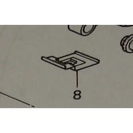 image: Nissin spring for rearbrake pads