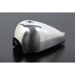 image: Takegawa Natural-buff-finish Z-style aluminum fuel tank