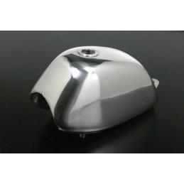 image: Takegawa Natural-buff-finish 4L-style aluminum fuel tank