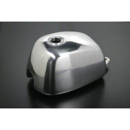 image: Takegawa Natural-buff-finish G-style aluminum fuel tank