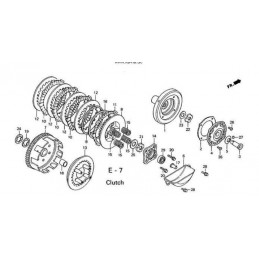 image: ROD, CLUTCH LIFTER see item 17