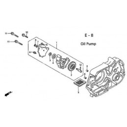 image: ROTOR, OIL PUMP OUTER see item 4