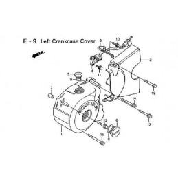 image: CLAMPER, A.C.GENERATOR CORD see item 3