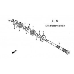 image: SPRING, KICK STARTER (NIPPON HATSUJO) see item 6