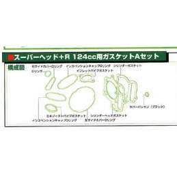 image: Takegawa GASKET A-SET (88/106/124CC) FOR SUPERHEAD+R