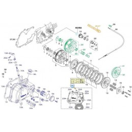 image: Takegawa BEARING SEAT NEW DRY/WET CLUTCH REPAIR PARTS ITEM 1