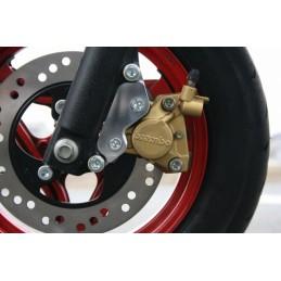 image: G'craft Monkey-R caliper holder for 190mm disk black