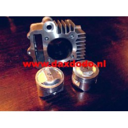 image: 52mm set alu GB5 12V with gasket set 88cc piston 12V for 50cc he