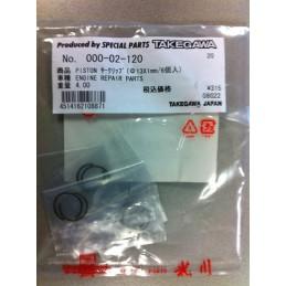 image: Takegawa piston pen rings 3 sets