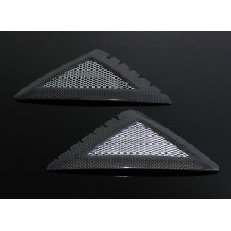 image: Carbon tank grilles, Honda MSX125 (msx-10071)