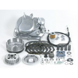image: Takegawa Special wet 5-disc clutch kit (polished) for 6V/12V Mon
