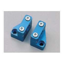 image: HANDLE CLAMP SET, BLUE MONKEY