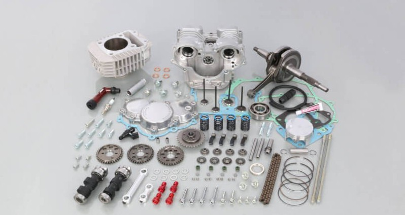 Kitaco DOHC kit 181cc for Honda Monkey125 and MSX